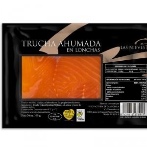 TRUCHA AHUMADA 100 GRS
