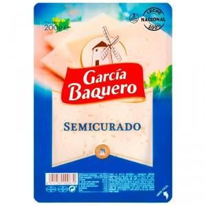 QUESO GARCIA BAQUERO LONCHAS SEMICURADO 200 GRS