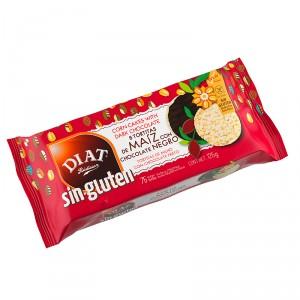 TORTITA MAIZ DIET CHOCOLATE NEGRO SIN GLUTEN 125 GRS