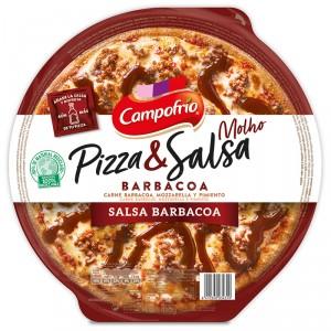 PIZZA CAMPOFRIO BARBACOA MASA FINA CON SALSA 410 GRS