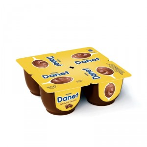 DANET DANONE CHOCOLATE PACK-4 X 120 GRS
