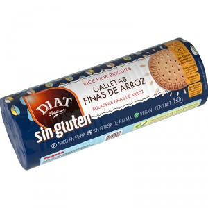 GALLETAS DE ARROZ DIET SIN GLUTEN 180 GRS