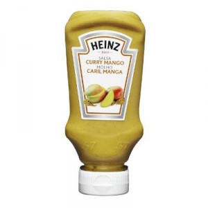 SALSA HEINZ CURRY CON MANGO 220 ML.