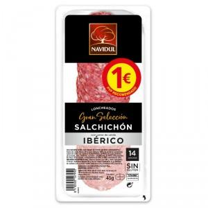 SALCHICHON NAVIDUL GRAN SELECCION LONCHAS 45 GRS