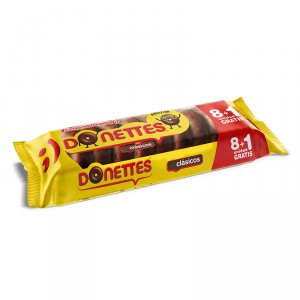 DONETTES CLASICOS 8+1 171 GRS.