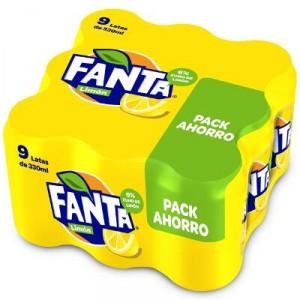FANTA LIMON LATA 33 CL. PACK 9 UNDS
