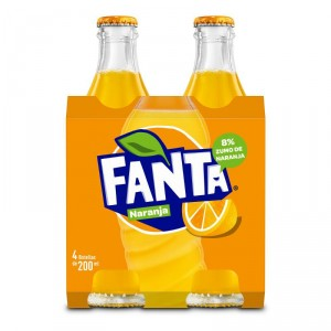 FANTA GO NARANJA VNR 20 CL. PACK-4UNDS.