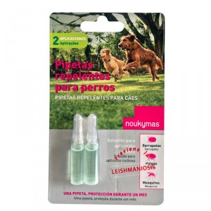 PIPETA REPELENTE PERROS 2X1,50 ML.
