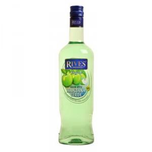 LICOR RIVES MANZANA VERDE SIN ALCOHOL 70 CL.