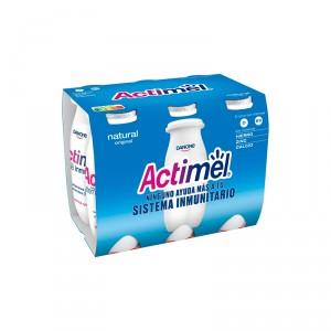 YOGUR DANONE ACTIMEL NATURAL PACK 6 UNDS X 100 GRS