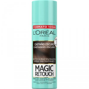 MAGIC RETOUCH LOREAL CASTAÑO OSCURO 100 ML.