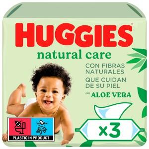 TOALLITA HUGGIES INFANTIL PACK 2 + 1, 168 UNDS