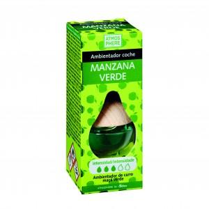 AMBIENTADOR ATMOSPHERE COCHE MANZANA VERDE 6 ML