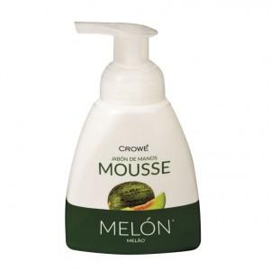 JABON CROWE MANOS MOUSSE MELON 300 ML.