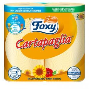 ROLLO COCINA FOXY CARTAPAGLIA RECOMENDADO FRITOS 2 ROLLOS