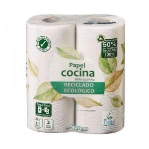 ROLLO COCINA SELEX RECICLADO-ECOLOGICO COMPACTO 2 UNDS.