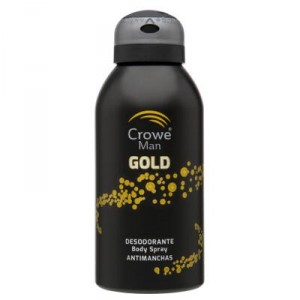 DESODORANTE CROWE MAN GOLD 150 ML.