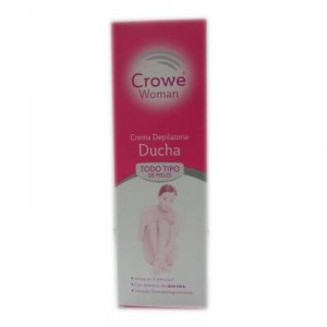CREMA CROWE WOMAN DEPILATORIA DUCHA 200 ML.