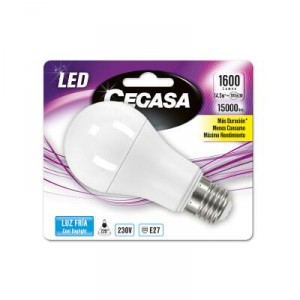 LAMPARA CEGASA LED ESTANDAR 14,5W E27 FRIA