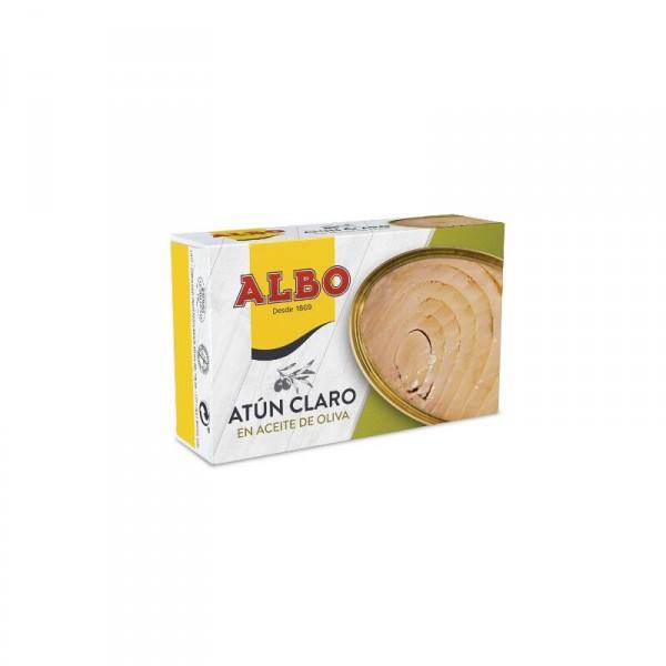 ATUN ALBO CLARO ACEITE OLIVA OL120 F.APERT. 82 GR. P.E.