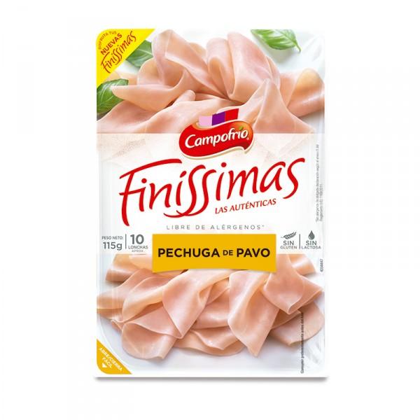 PECHUGA PAVO FINISSIMAS CAMPOFRIO 115 GRS