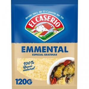 QUESO EL CASERIO RALLADO GRATINAR EMMENTAL 130 GRS