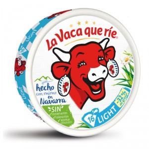 QUESO LA VACA QUE RIE LIGHT 16 PORCIONES 250 GRS