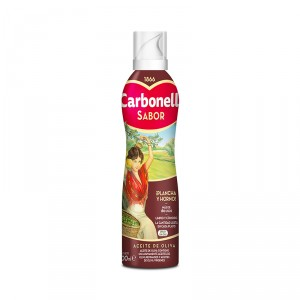 ACEITE CARBONELL OLIVA ESPECIAL PLANCHA SPRAY 200 ML.