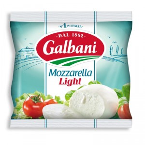 MOZZARELLA LIGHT BOLA GALBANI 125 GRS.