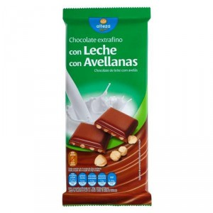 CHOCOLATE ALTEZA CON AVELLANAS 150 GRS