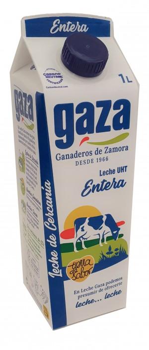 LECHE GAZA ENTERA BRIK LITRO