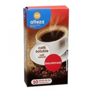 CAFE ALTEZA SOLUBLE DESCAFEINADO 2 GRS PACK 10 UNDS