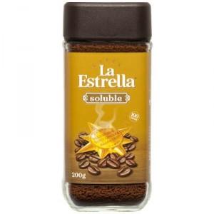 CAFE LA ESTRELLA SOLUBLE NATURAL 200 GRS