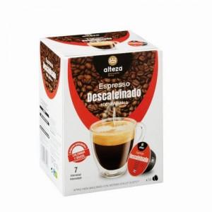 CAFE ALTEZA DESCAFEINADO 16 CAP.120 GRS COMP.DOLCE GUSTO