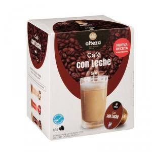 CAFE ALTEZA CON LECHE 16 CAPS 120 GRS COMPATIBLE DOLCE GUSTO
