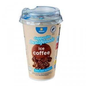 CAFE ALTEZA ICE COFFEE LATTE CAPPUCCINO DESCAFEINADO 250 ML.