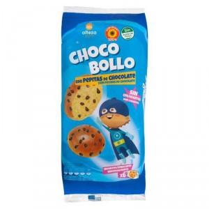 BOLLO ALTEZA CON PEPITAS DE CHOCOLATE 6 UNDS 240 GRS