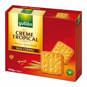GALLETA GULLON CREME TROPICAL 800  GRS