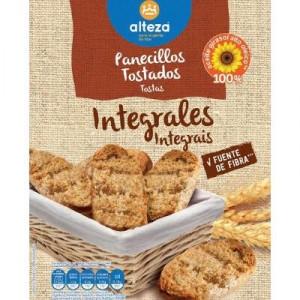 PANECILLOS ALTEZA TOSTADOS INTEGRALES 225 GRS