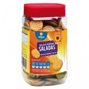 GALLETA ALTEZA SALADA REDONDA 350 GRS