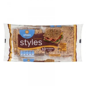 PAN ALTEZA STYLES SANDWICH 10 CEREALES 310 GRS