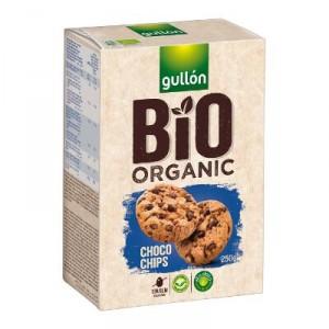 GALLETA GULLON BIO ORGANIC CHOCO CHIPS 250 GRS
