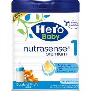 LECHE HERO BABY 1 NUTRASENSE PREMIUM 800GRS