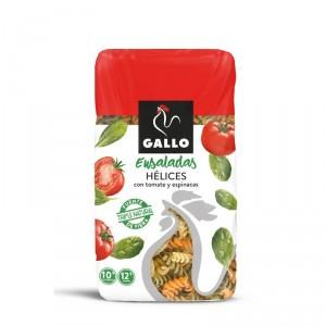 PASTA GALLO HELICES CON VEGETALES 450 GRS