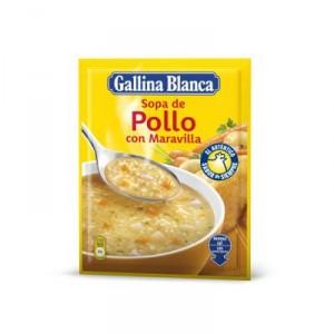 SOPA GALLINA BLANCA MARAVILLA 74 GRS