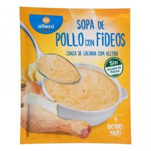 SOPA ALTEZA POLLO CON FIDEOS 80 GRS