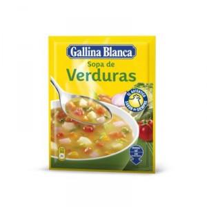 SOPA GALLINA BLANCA VERDURAS 57 GRS