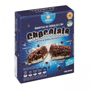 BARRITA ALTEZA CEREALES CHOCOLATE BLANCO PACK-6 138 GRS.