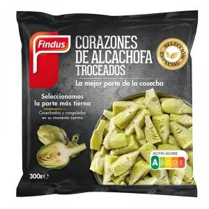 CORAZON ALCACHOFA TROCEADOS FINDUS 300 GRS