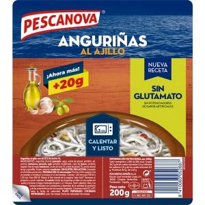 ANGURINAS AJILLO PESCANOVA 2X100 GR.,UN.